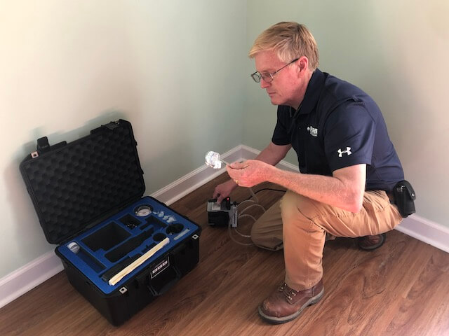 mold inspection in home